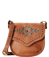 American West - Makah Village Crossbody Flap Bag