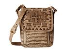 American West Apache Crossbody Flap Bag (Sand)