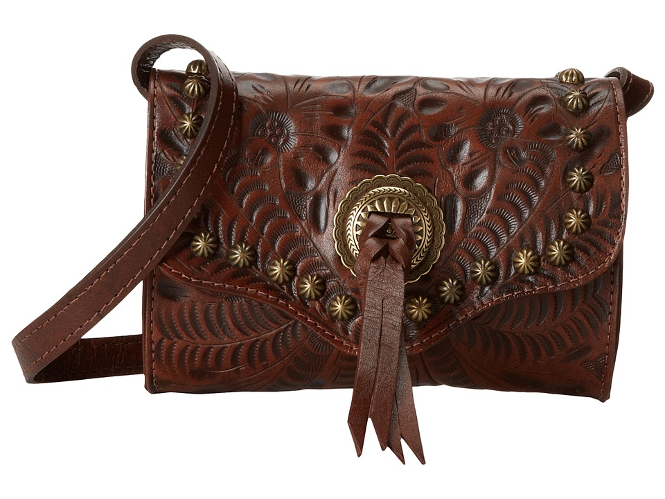 Image of American West - Gameday Small Crossbody Bag (Earth Brown) Cross Body Handbags