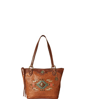 American West - Zuni Passage Zip Top Bucket Tote