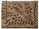American West Shane Tri-Fold French Wallet (Sand)