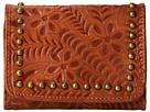 American West Shane Tri-Fold French Wallet (Golden Tan)