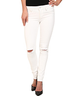 DL1961 - Emma Skinny w/ Distress in Dove White