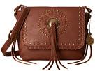 American West Sioux Crossbody Flap Bag (Tan)