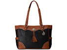 American West Brecken Ridge Carry On Tote (Black/Golden Tate)