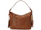American West Mesa Slouch Hobo Shoulder Bag (Tan/Gold)