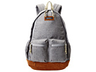 RVCA Crescent Backpack (Grey Heather)