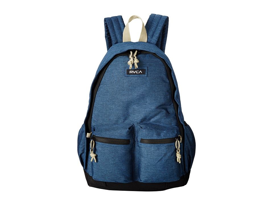 RVCA Crescent Backpack Navy Heather Backpack Bags