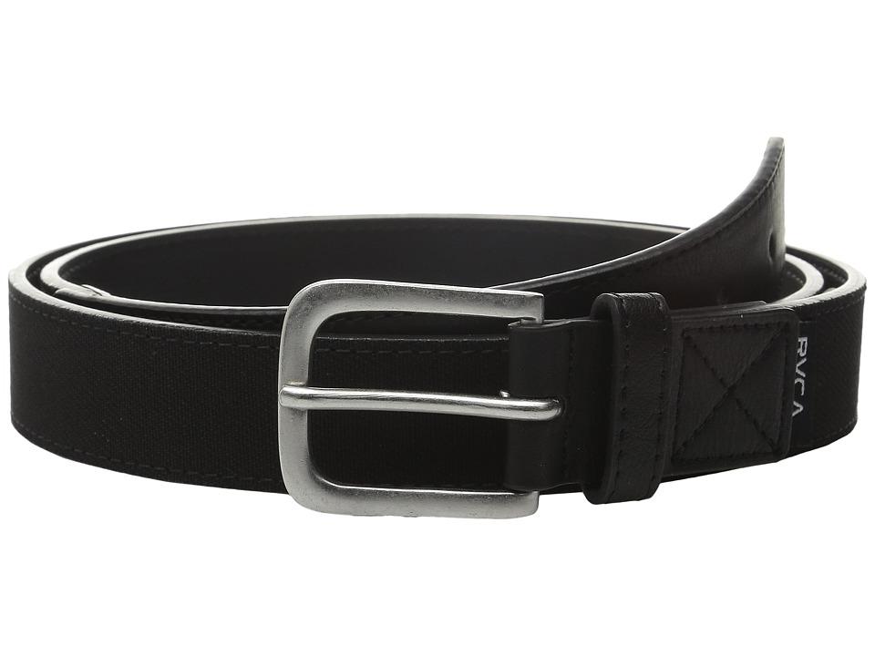RVCA Reservoire Belt Black Mens Belts