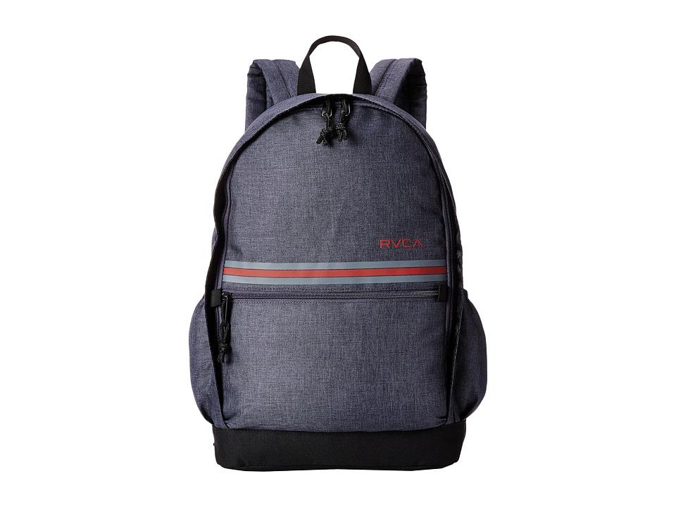 RVCA Barlow Backpack Dark Charcoal Heather Backpack Bags