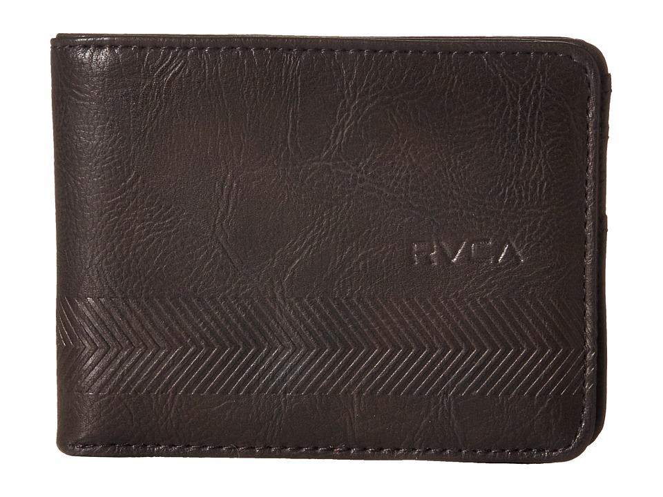 RVCA Selector Wallet Brown Wallet Handbags