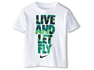 Nike Kids Live and Let Fly Short Sleeve Tee