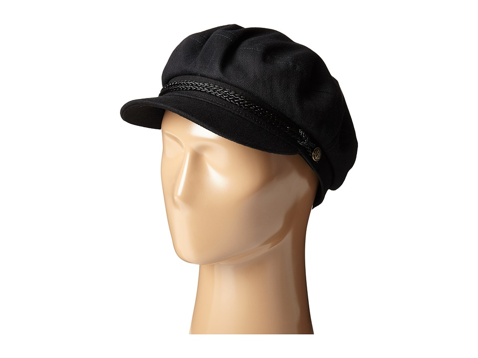 Men's Vintage Style Hats Brixton - Fiddler Black Traditional Hats $34.00 AT vintagedancer.com