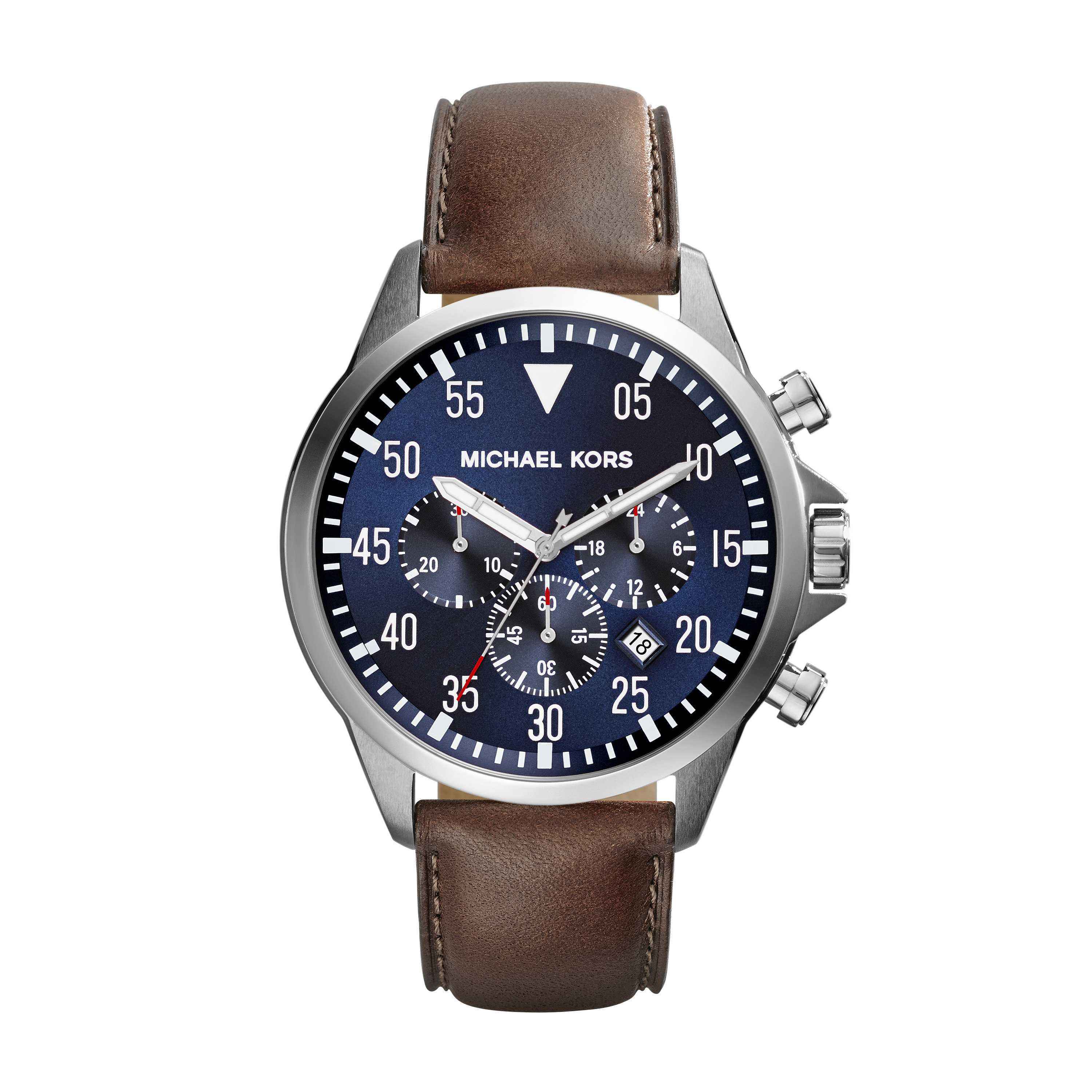 Michael Kors - Gage - MK8362 (Brown/Navy) Watches