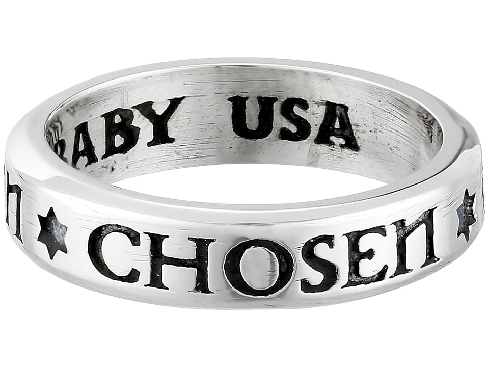 King Baby Chosen Stackable Ring (Silver) Ring