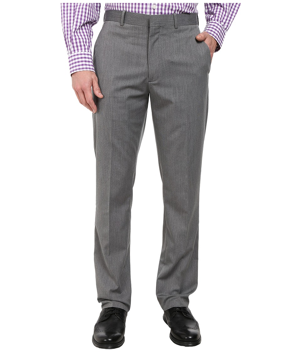 Perry Ellis Portfolio Slim Fit End on End Pants Charcoal Mens Casual Pants