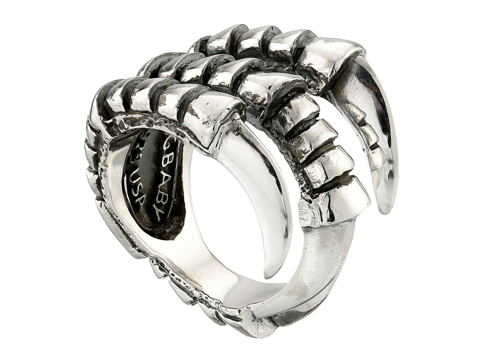 King Baby Raven Claw Ring (Silver) Ring