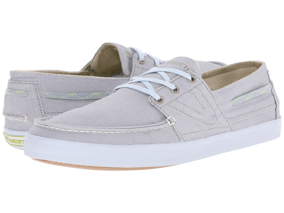 Tretorn - Otto Washed Canvas (Griffin Gray) Men