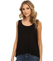 Free People - Rayon Linen Jersey Cruz Cape Tank Top