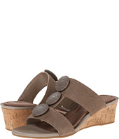 Rockport - Total Motion 55mm Stone Ornament Slide Wedge Sandal