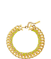 Vince Camuto - Woven Neon Drama Collar Necklace