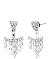 Vince Camuto - Triangle & Fringe Ear Jacket Earrings