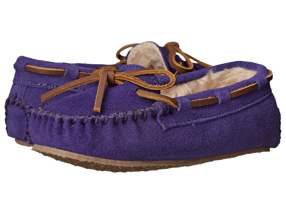 Minnetonka Kids Cassie Slipper (Toddler/Little Kid/Big Kid) (Purple) Girls Shoes