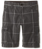 Hurley Kids - Plaid Cargo Shorts (Big Kids)