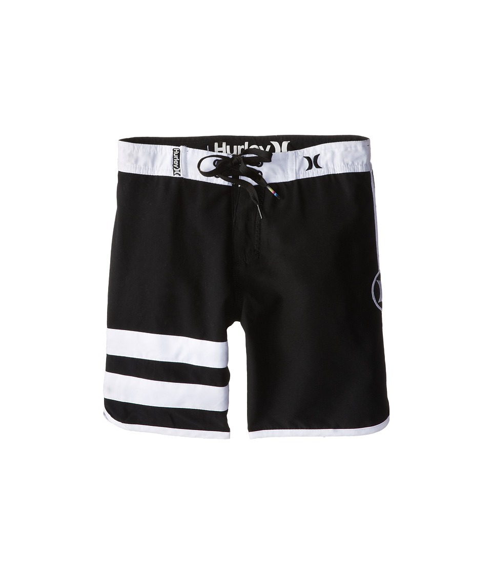 Hurley Kids Block Party Boardshorts Little Kids Black Boys Swimwear