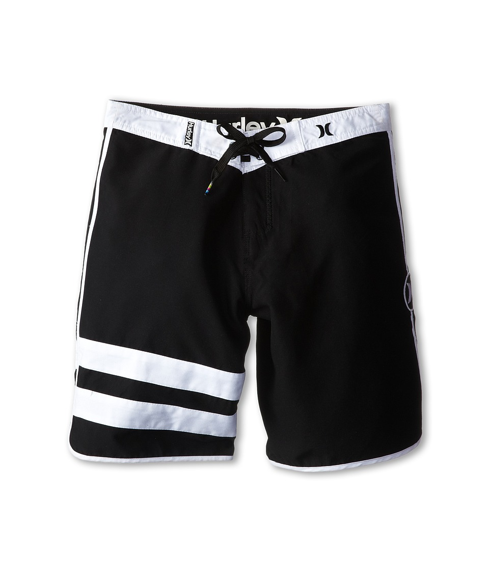 Hurley Kids Block Party Boardshorts Big Kids Black Boys Swimwear