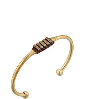 Dogeared - Hematine Bead Brass Cuff Bracelet