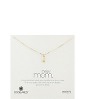 Dogeared - New Mom Safety Pin Necklace