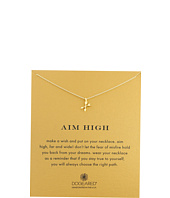 - Aim High Crossing Arrows Necklace  Gold