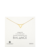 Dogeared - Balance Large Open Triangle Necklace
