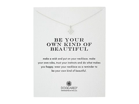 Dogeared Be Your Own Kind of Beautiful Necklace - Sterling Silver