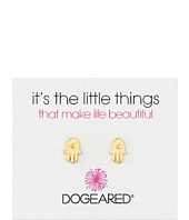 Dogeared - It's The Little Things Hamsa Earrings