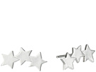 Three Wishes 3 Star Stud Earrings