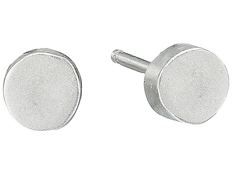 Dogeared The Circle Thick Circle Stud Earrings - Sterling Silver