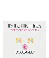 Dogeared - It's The Little Things Teeny Angel Wings Earrings
