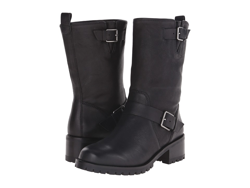 Cole Haan Hemlock Boot (Black Leather) Women's Pull-on Boots