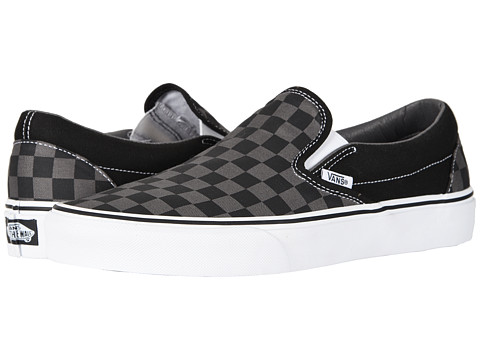 Vans Classic Slip-On™ Core Classics - (Checkerboard) Black/Pewter