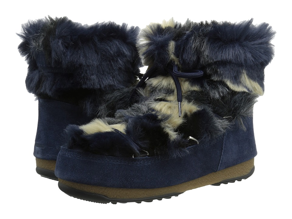 Tecnica Moon Boot W.E. Low Fur (Blue) Women