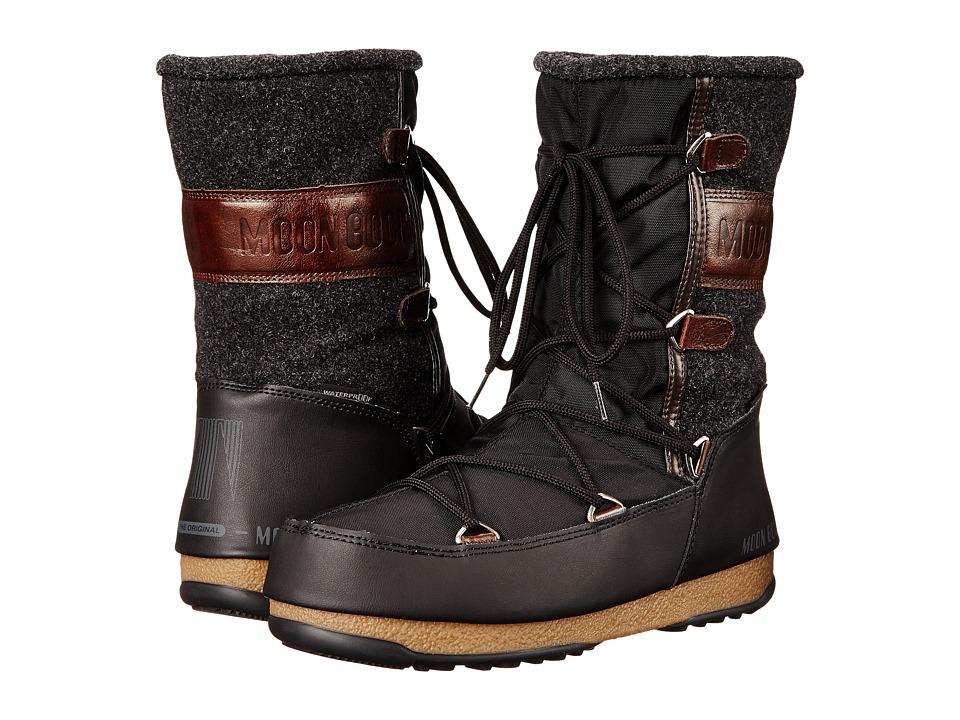 Tecnica - Moon Boot(r) W.E. Vienna Felt (Black) Womens Boots