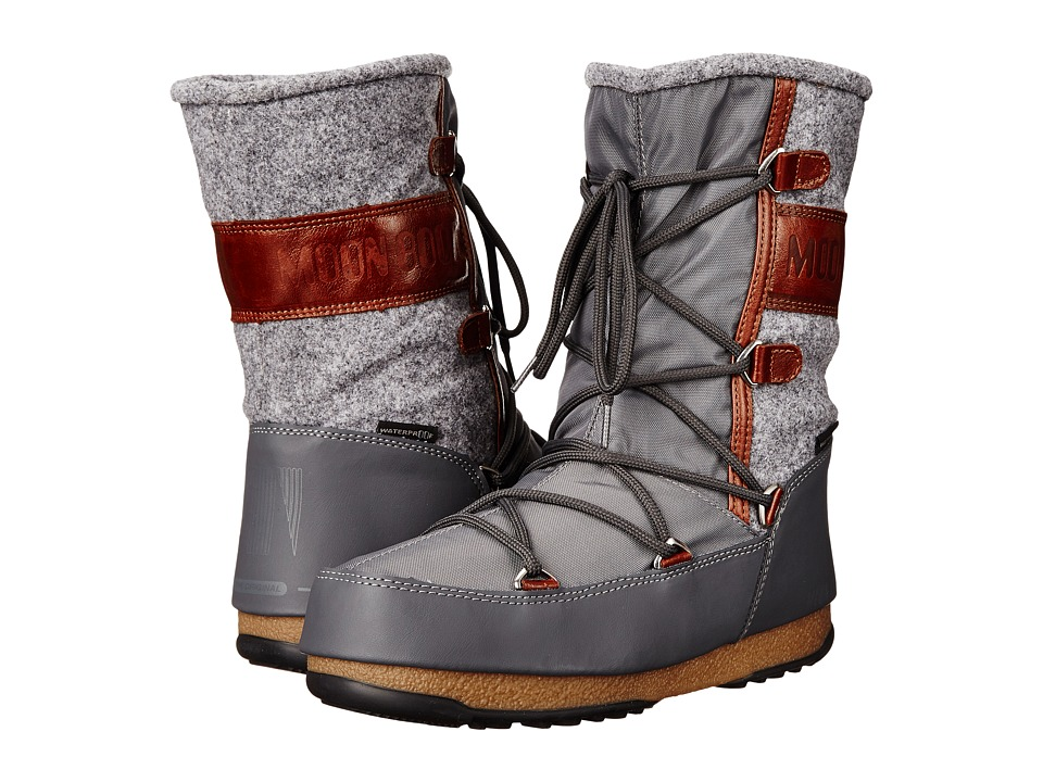 Tecnica - Moon Boot W.E. Vienna Felt (Gray) Women