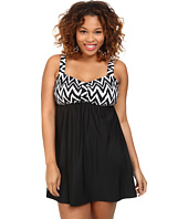 Athena - Plus Size Sierra Underwire Swim Dress One-Piece