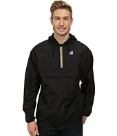K-WAY - Leon Klassic Waterproof Half Zip Jacket w/ Hood