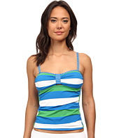 Tommy Bahama - Rugby Over The Shoulder Tankini Top