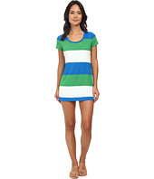 Tommy Bahama - Bold Stripe Short T-Shirt Dress Cover-Up