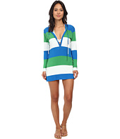 Tommy Bahama - Bold Stripe Hoodie Cover-Up