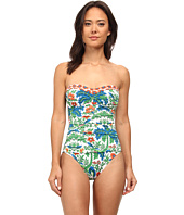 Tommy Bahama - Palm Paisley Bandeau One-Piece